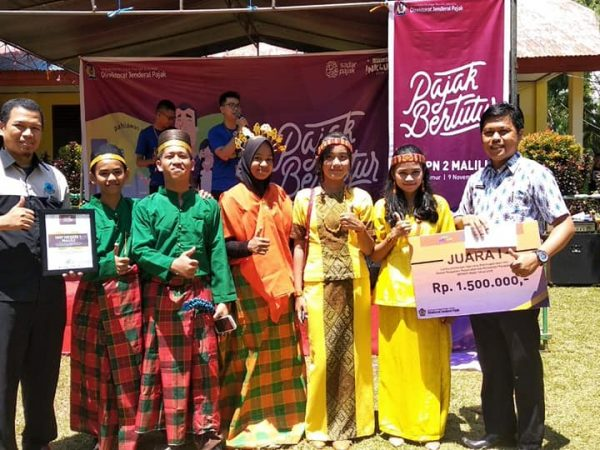 Juara 1 Umum Lomba Editing Music Video 2018