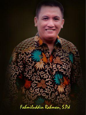 Fahmiluddin,S.Pd